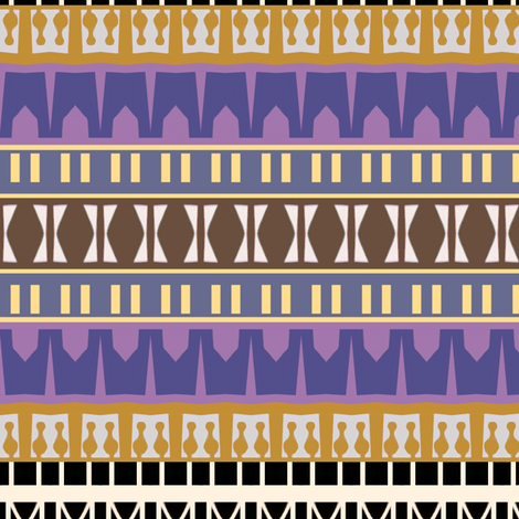 Mosque Stripes fabric by boris_thumbkin on Spoonflower - custom fabric