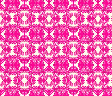 I Heart You! fabric by robin_rice on Spoonflower - custom fabric