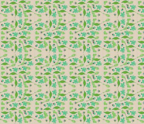 Family Tree COMP-319 fabric by kkitwana on Spoonflower - custom fabric