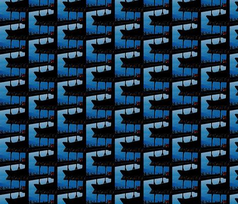 HouseShadow fabric by dolphinandcondor on Spoonflower - custom fabric
