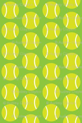 Small Half-Drop Light Green Tennis Balls