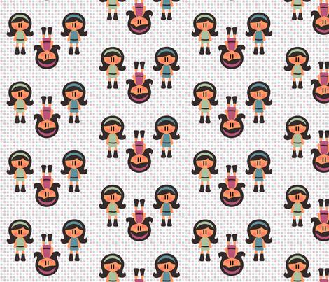 Yeye dots fabric by sawabona on Spoonflower - custom fabric