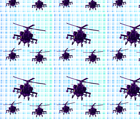 Helicopter fabric fabric by farrellart on Spoonflower - custom fabric