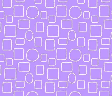 Lace, in Purple fabric by cleverviolet on Spoonflower - custom fabric