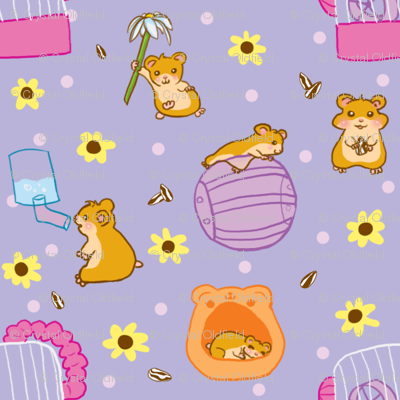 Sunflower Hamsters