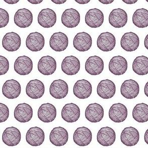 Yarn Ball Spots Pink
