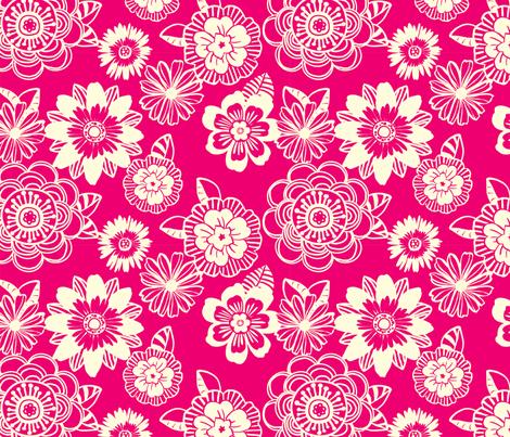 Pretty In Pink fabric by abby_zweifel on Spoonflower - custom fabric
