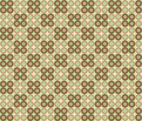 Green Argyle Circles fabric by audreyclayton on Spoonflower - custom fabric
