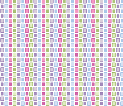 Mod Squares fabric by audreyclayton on Spoonflower - custom fabric
