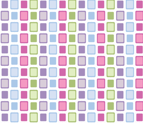 Large Mod Squares fabric by audreyclayton on Spoonflower - custom fabric