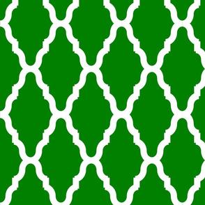 Green Lattice Lg Reverse