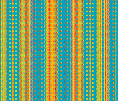 Happy Stripes and Dots fabric by robin_rice on Spoonflower - custom fabric