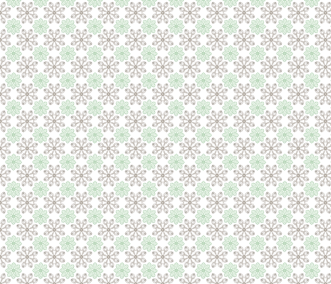 Multi Dots - Mint fabric by kristopherk on Spoonflower - custom fabric