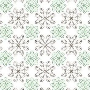 Multi Dots - Mint