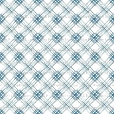 Multi Diamonds - Blue