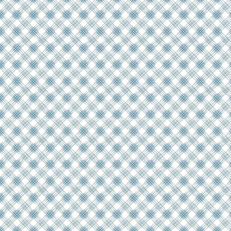 Multi Diamonds - Blue fabric by kristopherk on Spoonflower - custom fabric