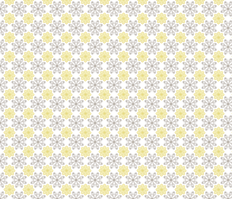 Multi Dots - Yellow fabric by kristopherk on Spoonflower - custom fabric