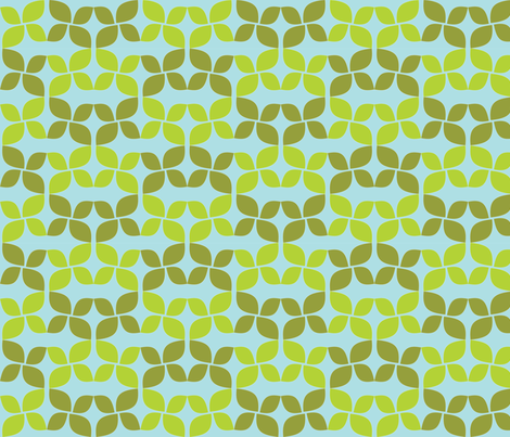 Leaves fabric by audreyclayton on Spoonflower - custom fabric