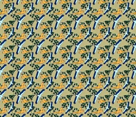 Stork & Owl fabric by crafty_mcgee on Spoonflower - custom fabric