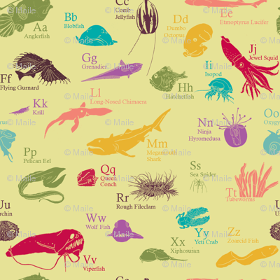 Deep Sea Alphabet