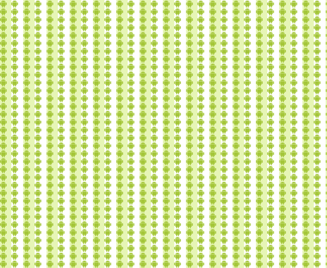 Android stripes fabric by quinnanya on Spoonflower - custom fabric