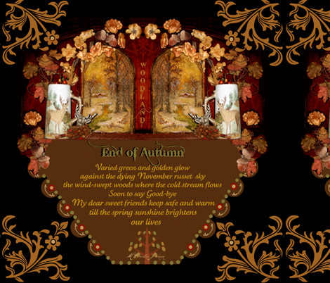 End of Autumn fabric by paragonstudios on Spoonflower - custom fabric