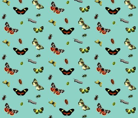 Bug Hunt fabric by hauteideas on Spoonflower - custom fabric