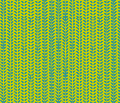 green leafy goodness fabric by elvett11 on Spoonflower - custom fabric