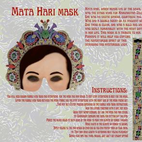 Mata Hari Mask