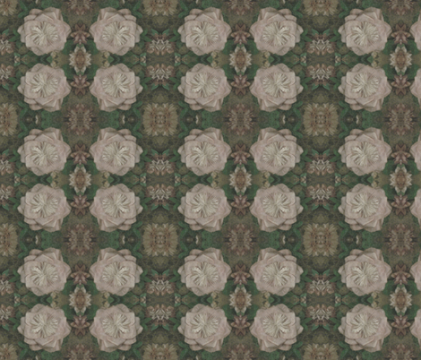 IMG_1237  Antique Frame #1 - Cuzco fabric by mmc2010 on Spoonflower - custom fabric