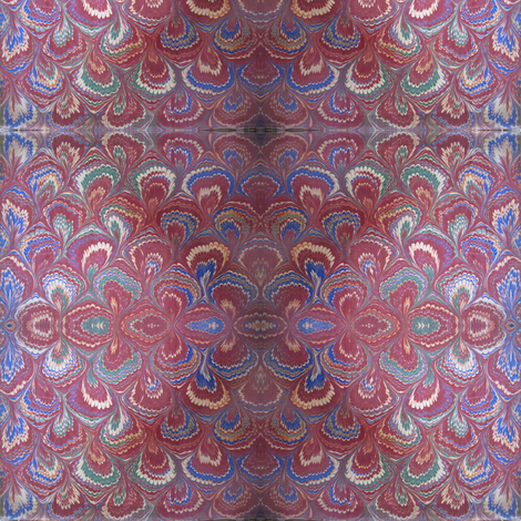 IMG_1513 - Antique #4 - Endpapers fabric by mmc2010 on Spoonflower - custom fabric