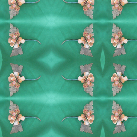 IMG_9828 -- Antique #11 Carved Jade Flowers fabric by mmc2010 on Spoonflower - custom fabric