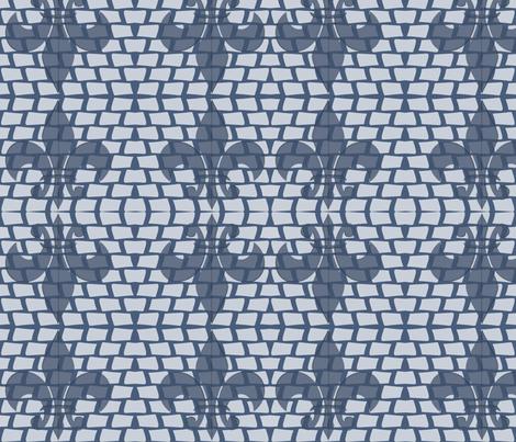 Fleur 003 fabric by lowa84 on Spoonflower - custom fabric