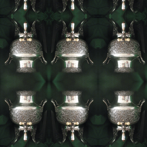 IMG_1025 - Antique #14 Silver Coffee Urn fabric by mmc2010 on Spoonflower - custom fabric