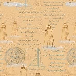 Lighthouses, Sailboats and Hope