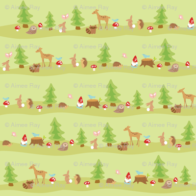 woodland animals