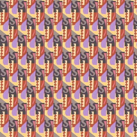 Deco Earrings fabric by boris_thumbkin on Spoonflower - custom fabric