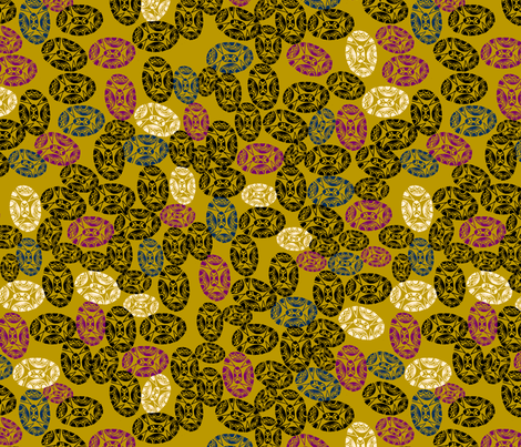 TC's Blossoms fabric by erinina on Spoonflower - custom fabric
