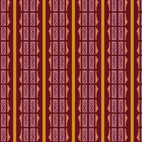 1930s Lattice Stripes fabric by boris_thumbkin on Spoonflower - custom fabric