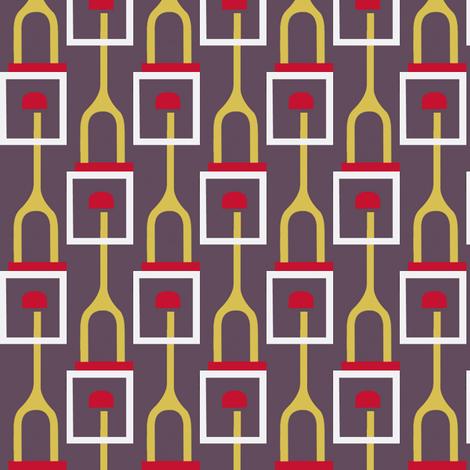 Wishbone Towers fabric by boris_thumbkin on Spoonflower - custom fabric