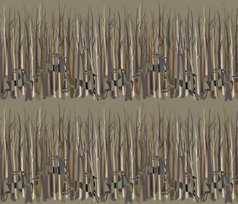 in the dead of winter fabric by vo_aka_virginiao on Spoonflower - custom fabric