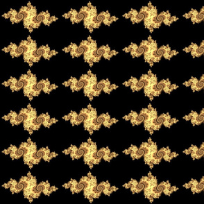 Julia/ Mandelbrot Set Mathematical Fabric 7