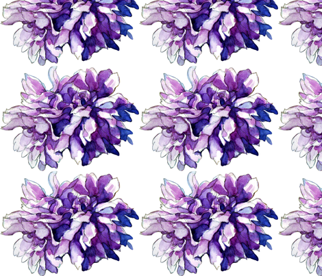 bouquet fabric by a_cup_of_grey_tea on Spoonflower - custom fabric
