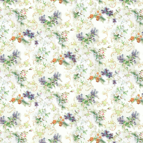 autumn_flowers fabric by catherinedeeauvil on Spoonflower - custom fabric