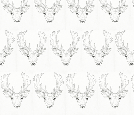 fallow_deer fabric by maial on Spoonflower - custom fabric