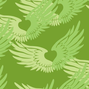 Heartwings: Spring Greens