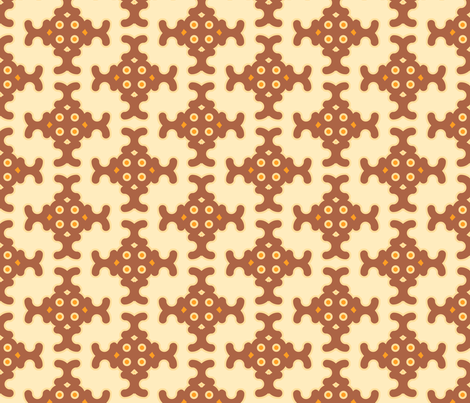 neutral_mosaic fabric by holli_zollinger on Spoonflower - custom fabric