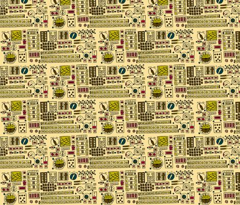 Control Panel fabric by 1stpancake on Spoonflower - custom fabric