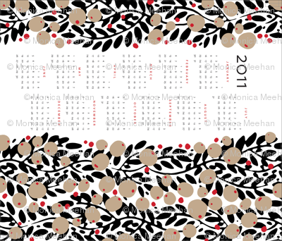 garland calendar towel [contest version]
