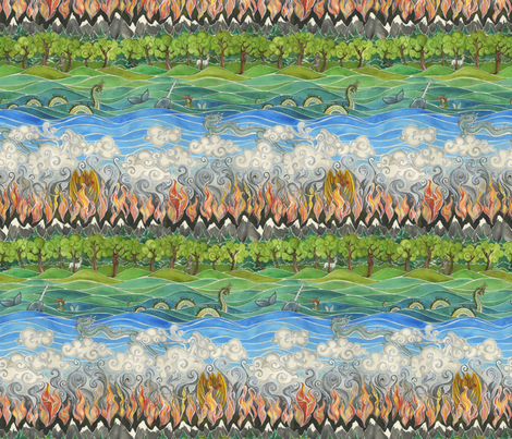 Elements of Fancy fabric by ceanirminger on Spoonflower - custom fabric
